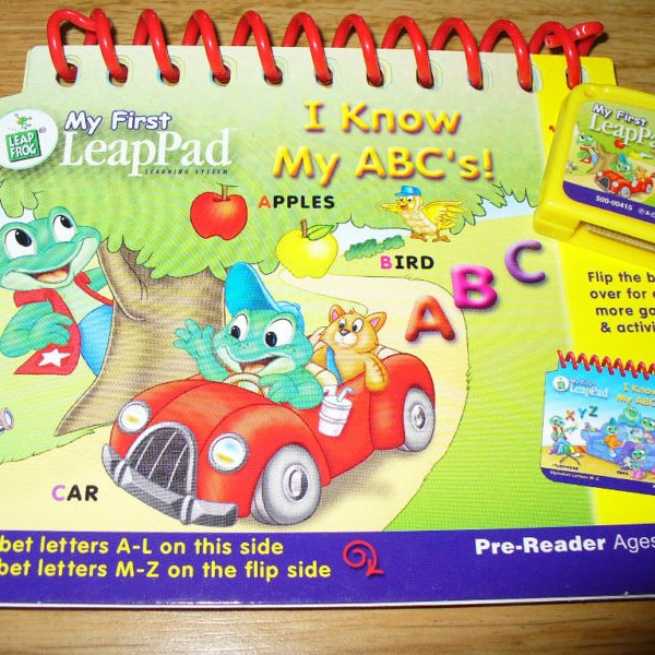 Leap Pad book and Cartridge  Great buy!